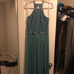Never worn Floor length gown